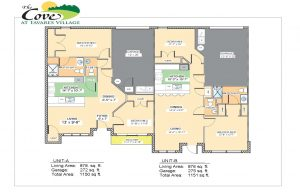 State Street Senior Living Villa Layouts in Tavares Florida