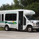 Senior Transportation Van at The Cove at Tavares Village in Tavares, FL
