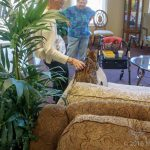 Therapy Pets are always Welcome at The Cove's Assisted Living Facility in Tavares, FL
