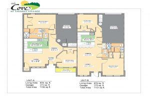 State Street Senior Living Villa Layouts in Tavares Florida