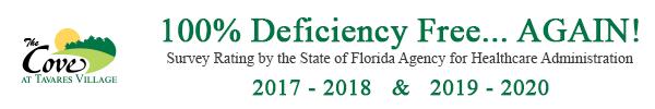 Deficiency Free Nursing Home Survey 2018