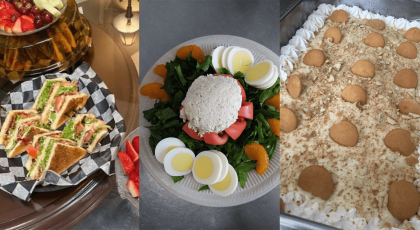Dining Meal options at Senior Living Facility