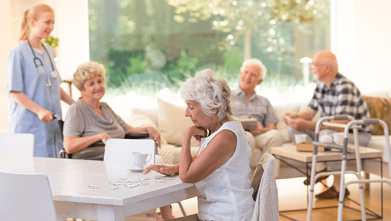 Senior Living Activities at The Cove